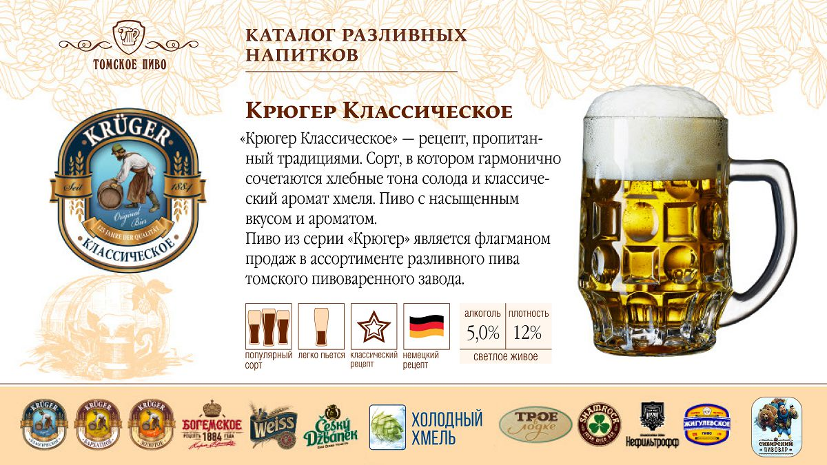 Томское пиво в картинках
